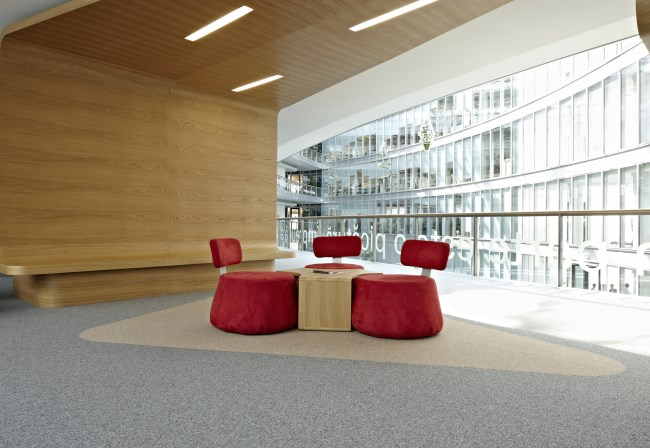 Desso Stratos carpet at Petrom City