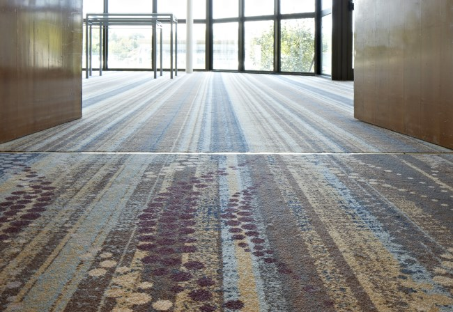Desso custom made Axminster carpet at Hilton Strasbourg