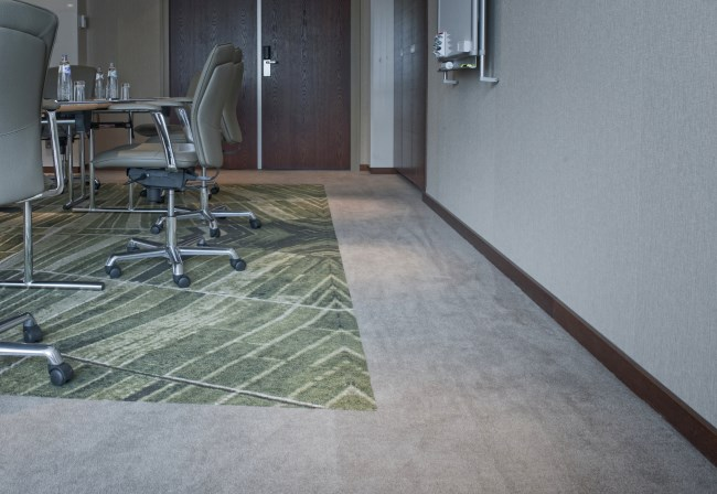 Desso custom made Axminster carpet at Hilton The Hague