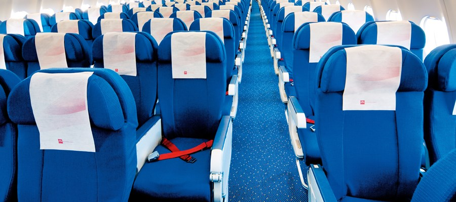 Desso Aviation carpet at KLM